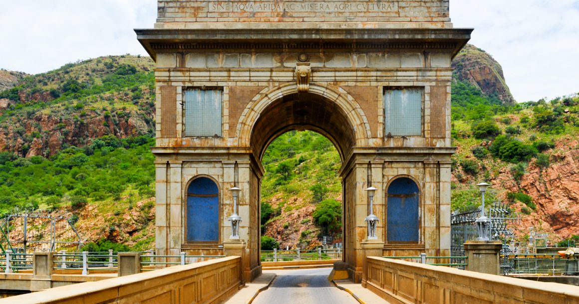 hartebeesport arch monument